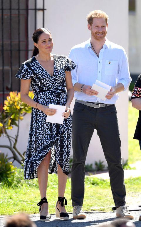 ヘンリー王子、メーガン妃、サセックス公爵夫人、アフリカ、植樹キャンペーン