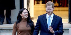 Duques de Sussex visitan la embajada de Canadá