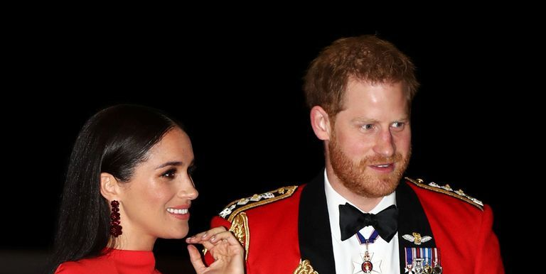 Watch Meghan Markle and Prince Harry's PDA Moment at the Mountbatten Music Festival