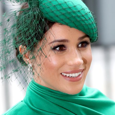 Meghan Markle at Commonwealth Day Service 2020