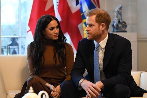 ヘンリー王子 メーガン妃 ロイヤルファミリー カナダ 移住