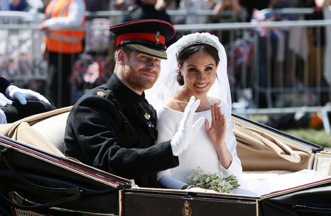 prince harry marries ms meghan markle   procession