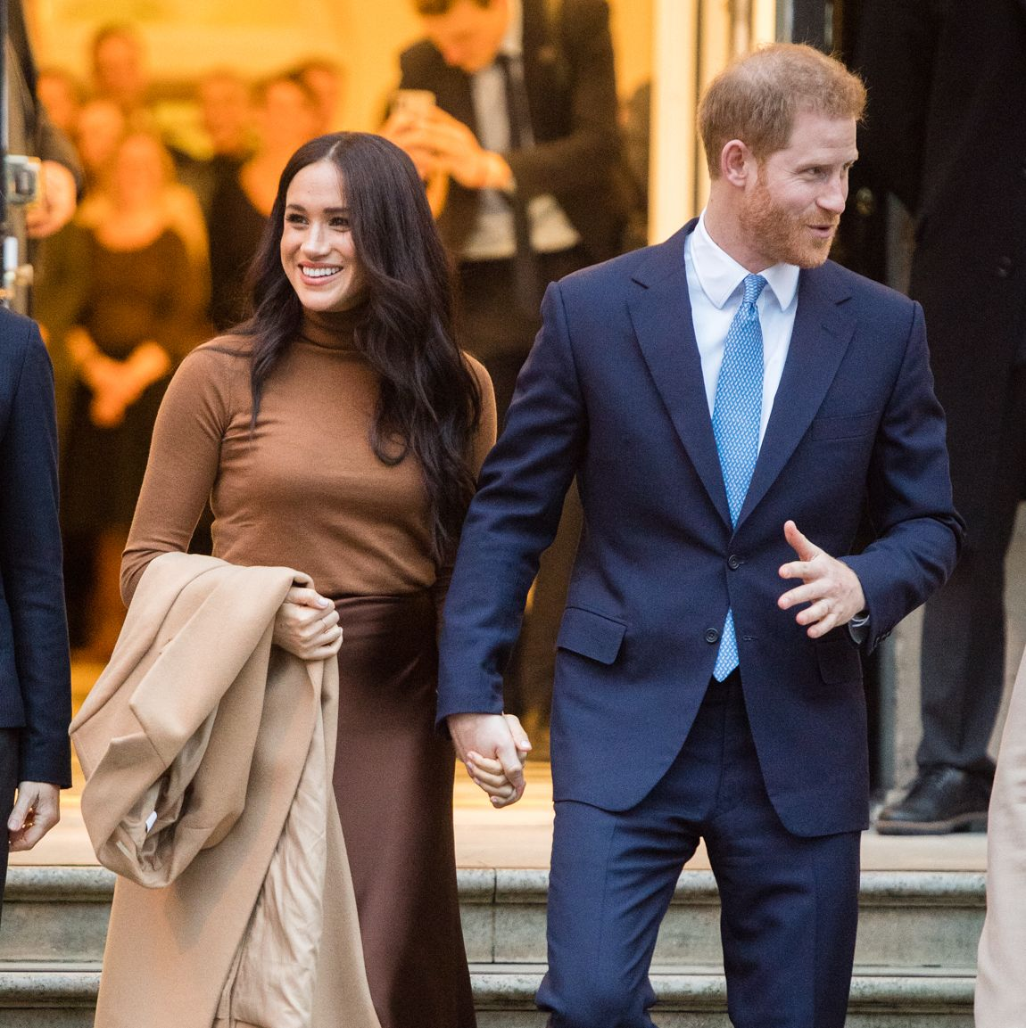 Lifetime's <I>Harry & Meghan: Escaping the Palace</I> Will Dramatize the Couple's Decision to Step Back