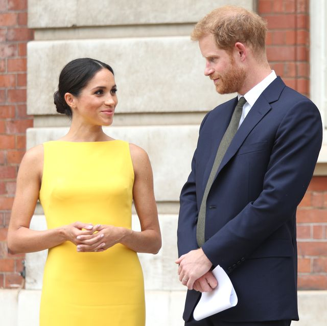 the duke  duchess of sussex attend 'your commonwealth' youth challenge reception