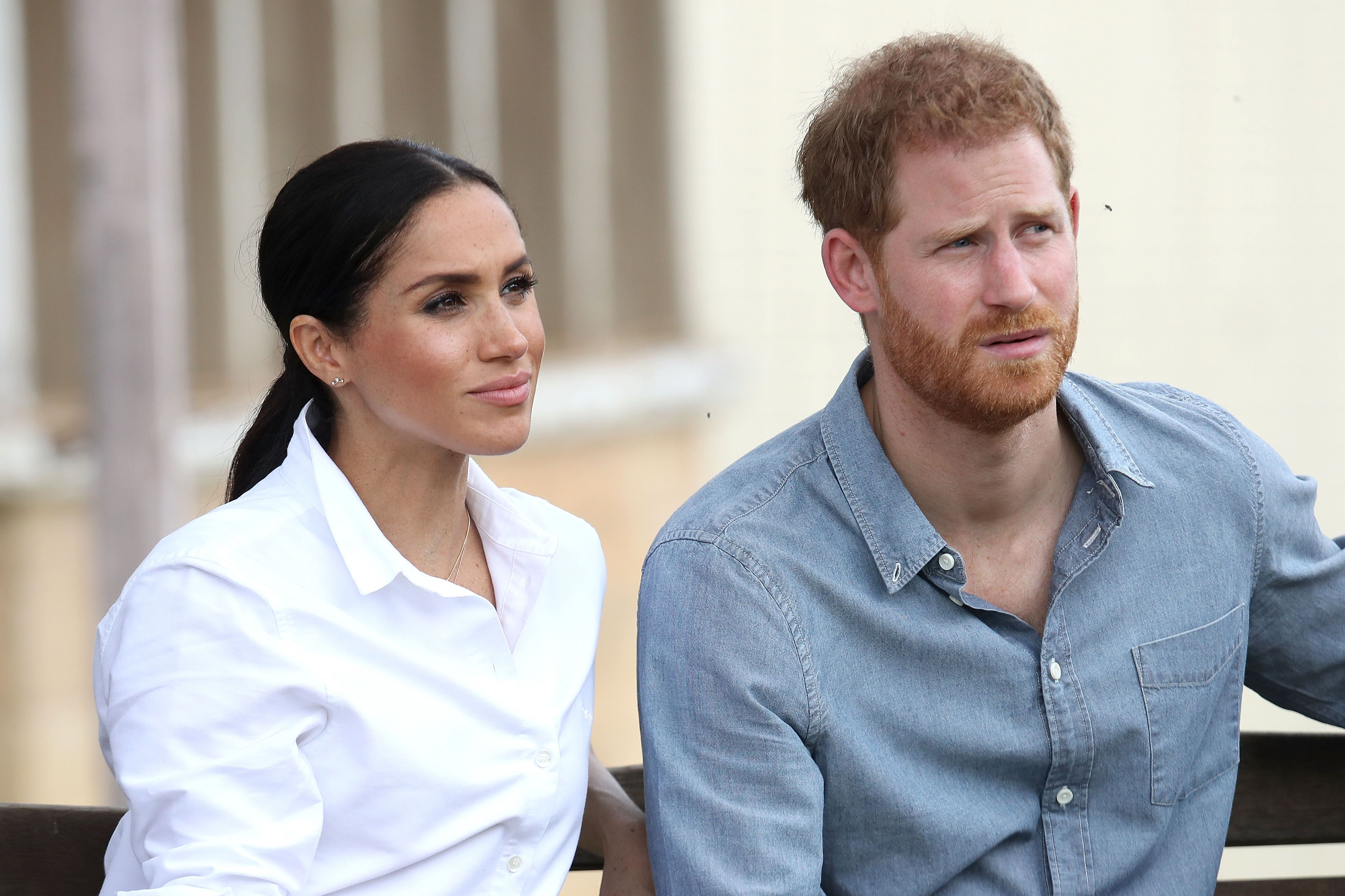 Prince Harry Reads the Comments in Press About Meghan Markle