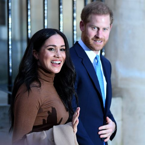 The Duke and Duchess of Sussex visit the House of Canada