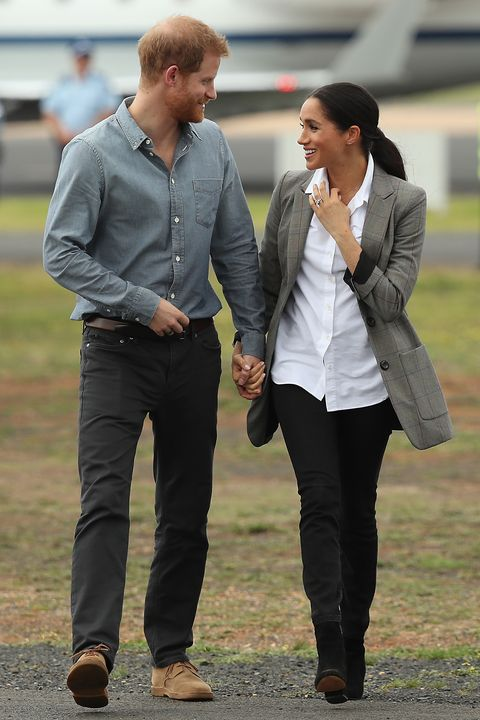 the duke and duchess of sussex visit australia  day 2