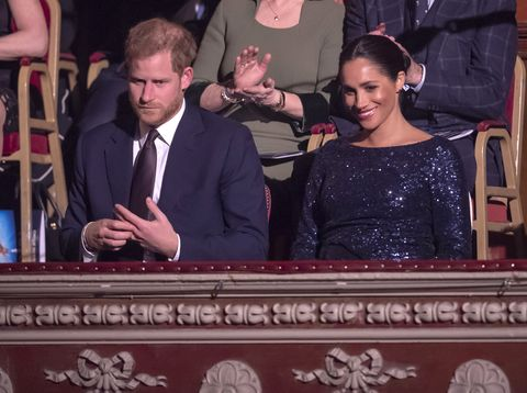 the duke and duchess of sussex attend the cirque du soleil premiere of
