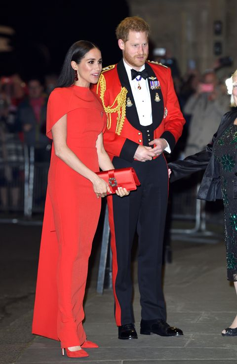 the duke and duchess of sussex attend mountbatten music festival
