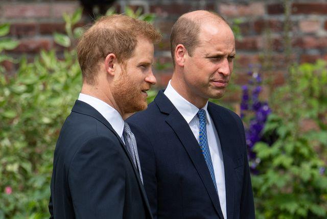 ウィリアム王子とヘンリー王子の兄弟間の問題に、完全な和解とまではいかないものの、改善の兆しが見え始めたかもしれない。先日、ロンドンのケンジントン宮殿に設置された、亡き母ダイアナ元妃の記念像の除幕式を行った王子たちについて、複数の王室専門家たちが、そうした見方を示している。