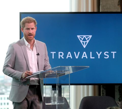 The Duke Of Sussex Launches New Partnership In Amsterdam
