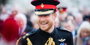 The Duke Of Sussex Visits The Field Of Remembrance At Westminster Abbey