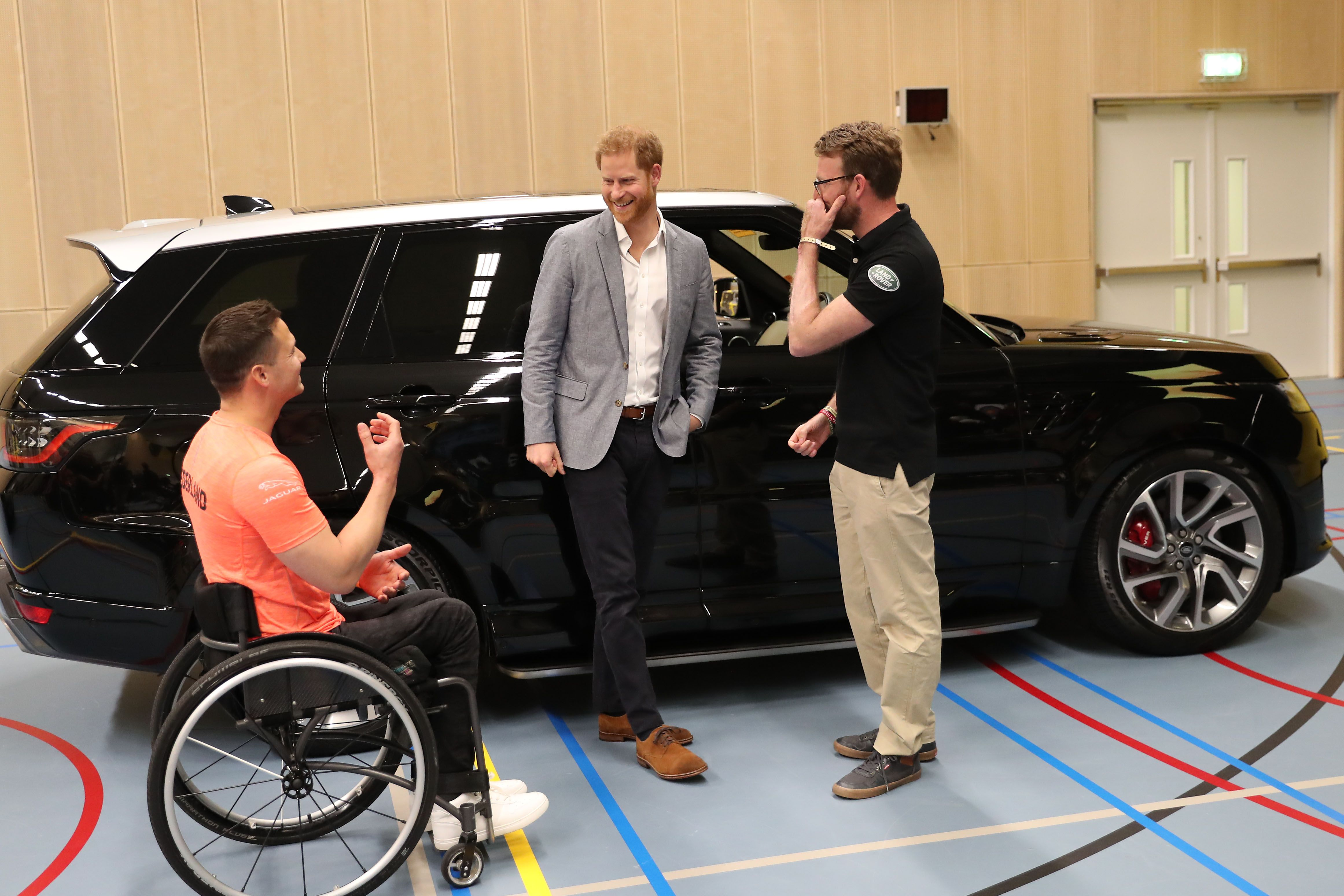 The Duke Of Sussex's Visits The Netherlands