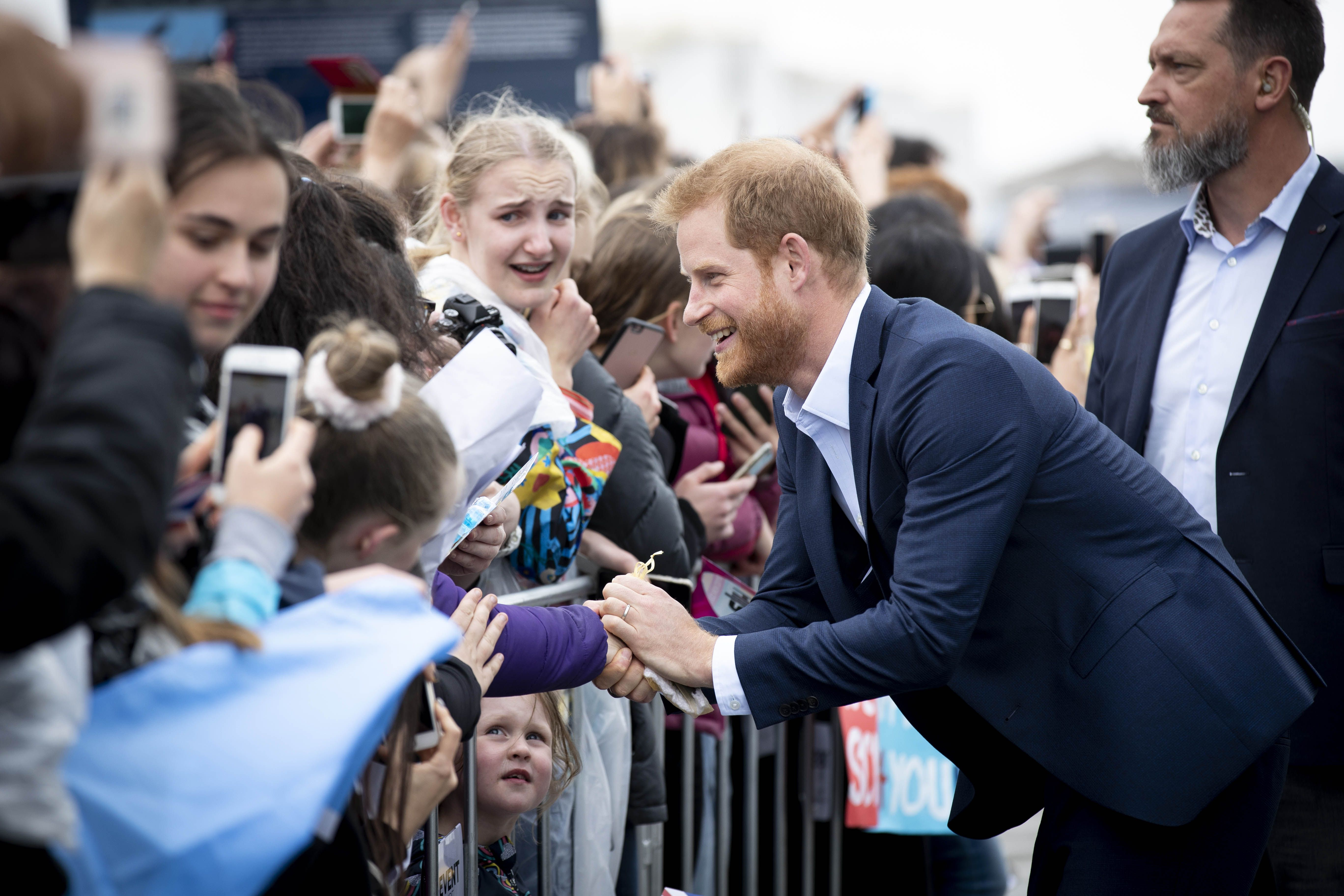 Prince Harry Said the Perfect Thing to Comfort a Child Who Had Lost His Mother