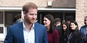 prince harry The Duke Of Sussex Visits Nottingham To Mark World Mental Health Day