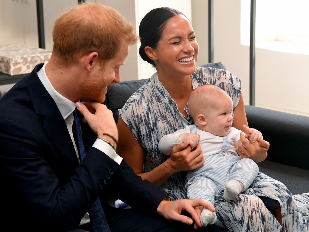 Every Photo of Archie With Meghan Markle and Prince Harry During the Royal Tour