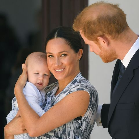 Meghan Markle, Archie, and Prince Harry