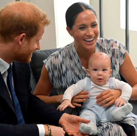 what meghan markle and prince harry s son archie is like at 6 months old what meghan markle and prince harry s