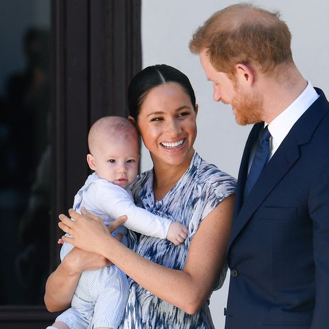 The Duke & Duchess Of Sussex archie christmas card