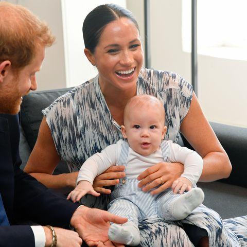 royal family archie birthday photos