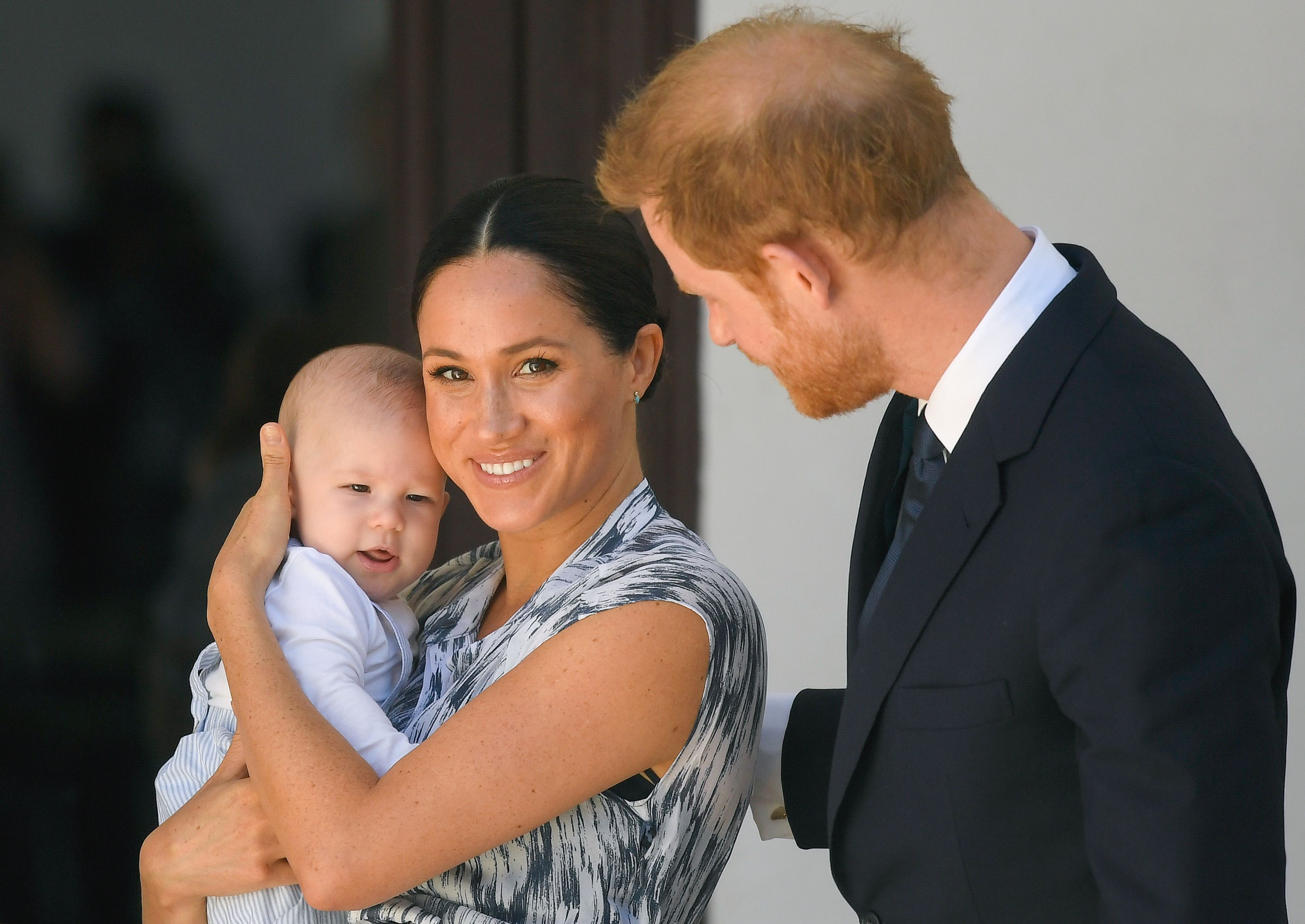 Prince Harry, Meghan Markle, & Archie Wish Prince Philip a Happy ...