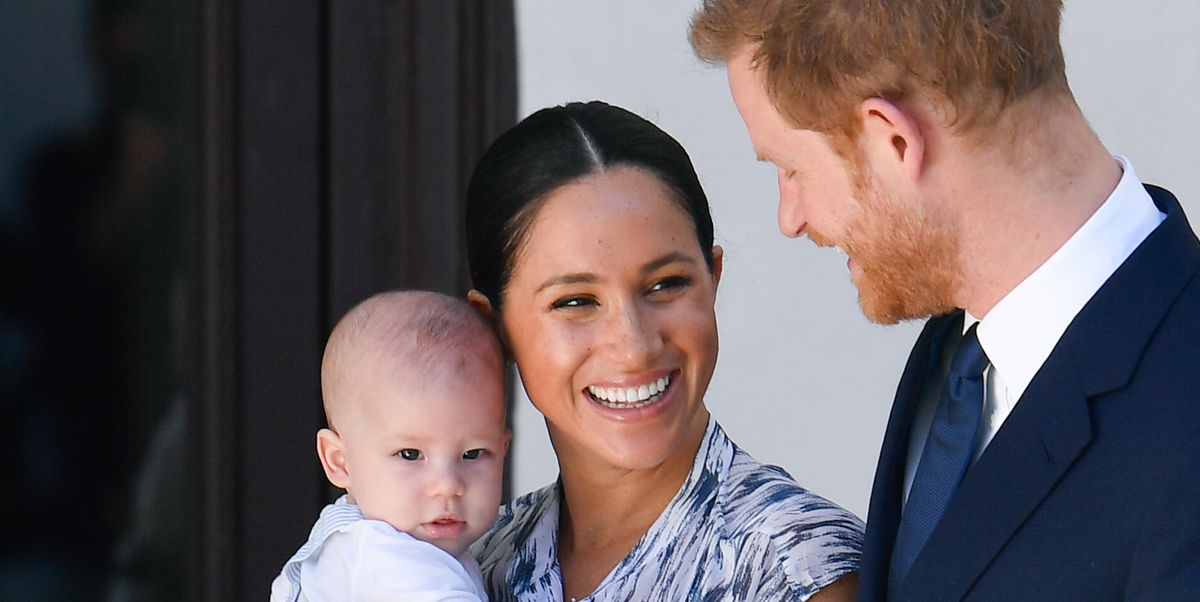 Meghan Markle And Prince Harry's Son, Archie, Is Already Loving Being A Big Brother