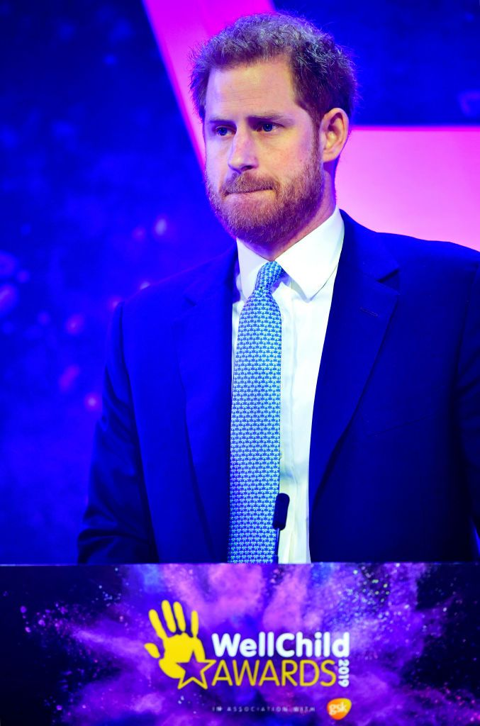 Prince Harry Got Emotional Speaking About Archie and Meghan at the WellChild Awards Tonight