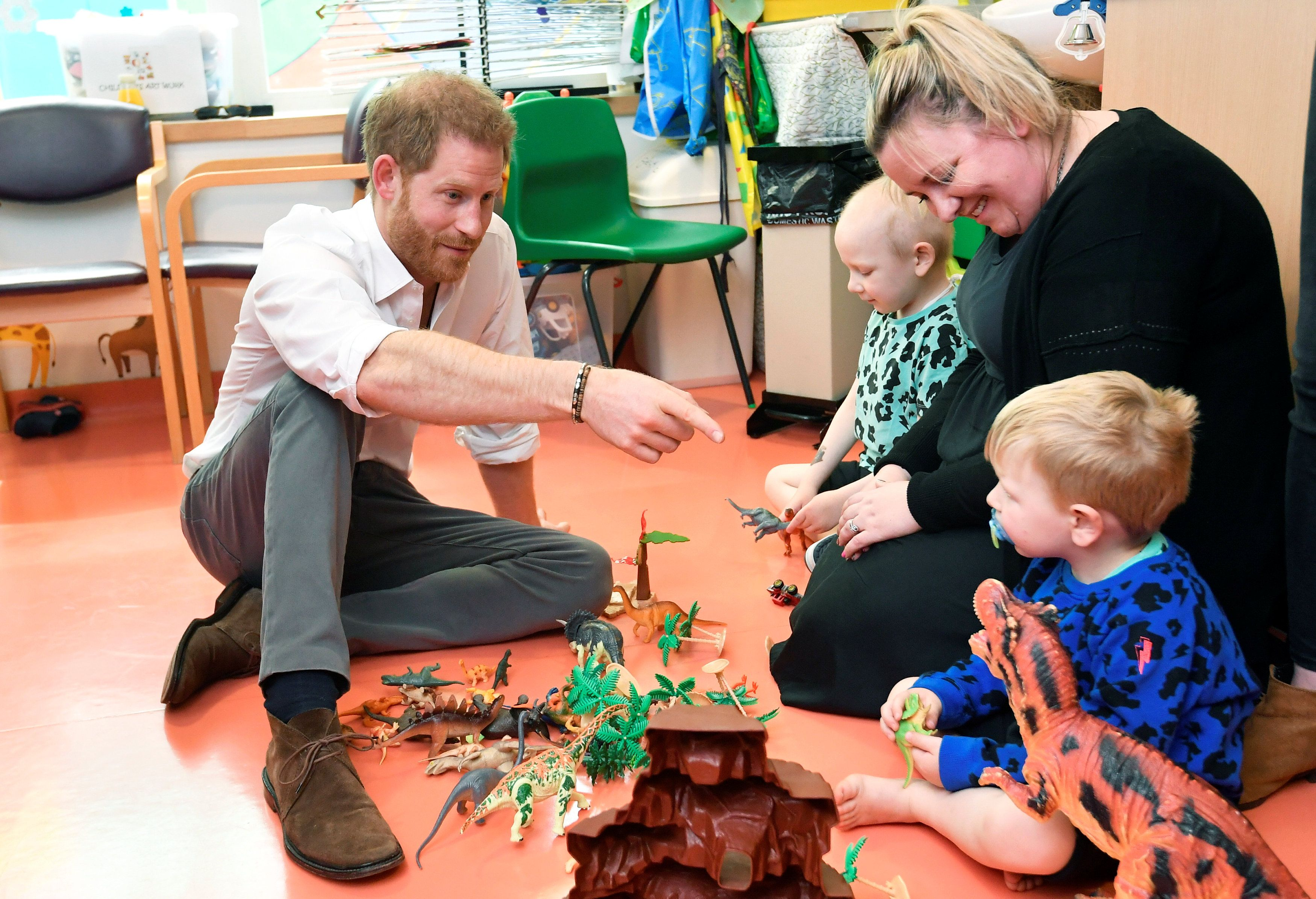 The Duke Of Sussex Visits Oxford