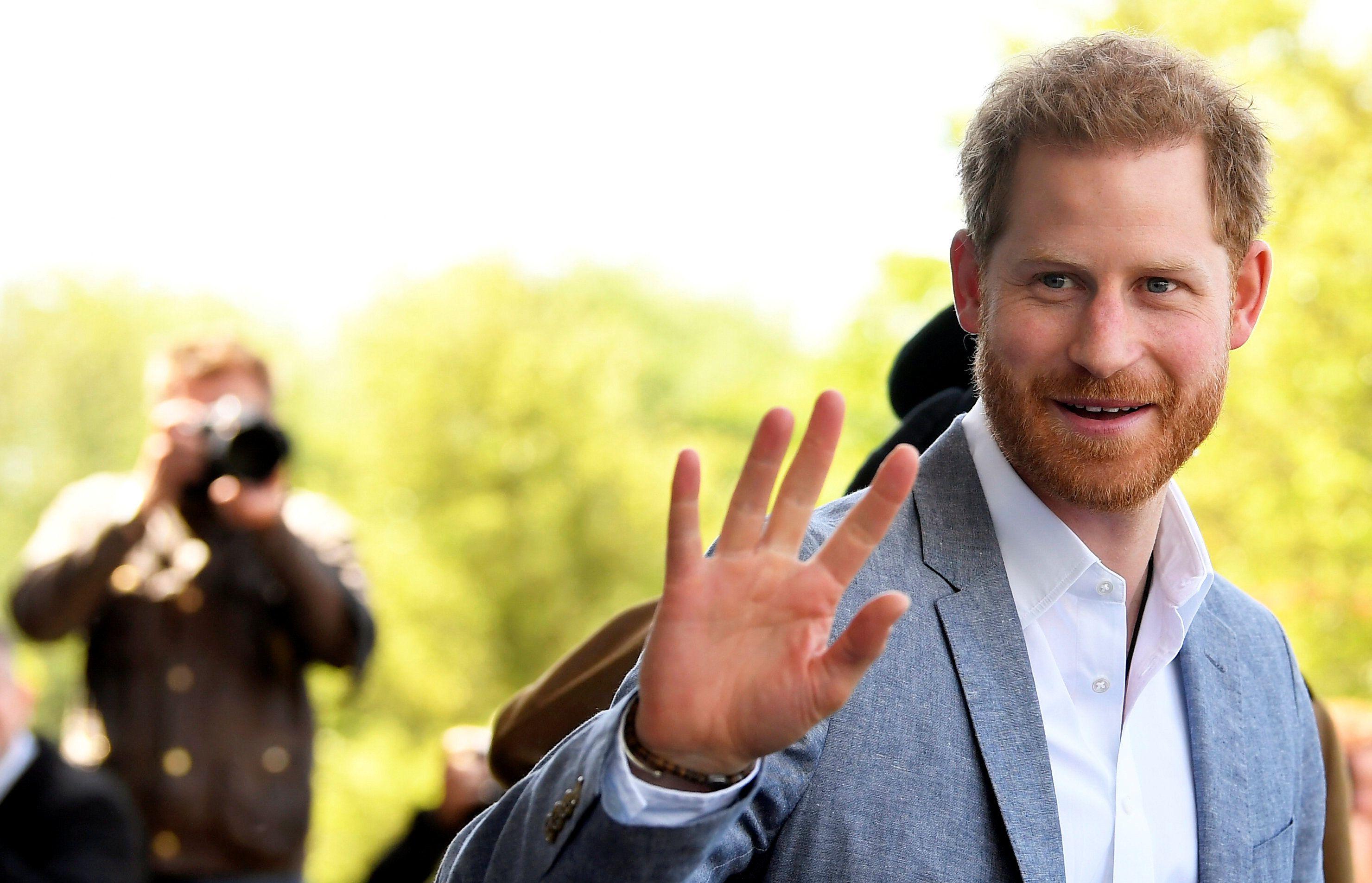 "So Prince Harry's Doorbell Plays ""God Save the Queen"""