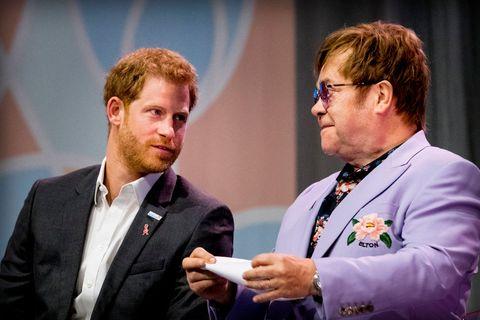 Elton John, Prince Harry