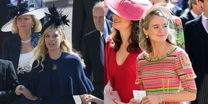 Two of Prince Harry's ex-girlfriends have turned up to the Royal Wedding