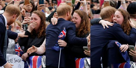 This Woman Meeting Prince Harry on the Royal Tour Is All of Us