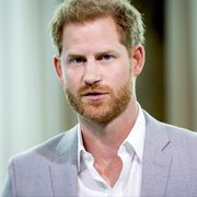 britain's prince harry attends the adam tower project introduction and global partnership between bookingcom, skyscanner, ctrip, tripadvisor and visa in amsterdam on september 3, 2019 an initiative led by the duke of sussex to change the travel industry to better protect tourist destinations and communities that depend on it photo by koen van weel  anp  afp  netherlands out        photo credit should read koen van weelafp via getty images