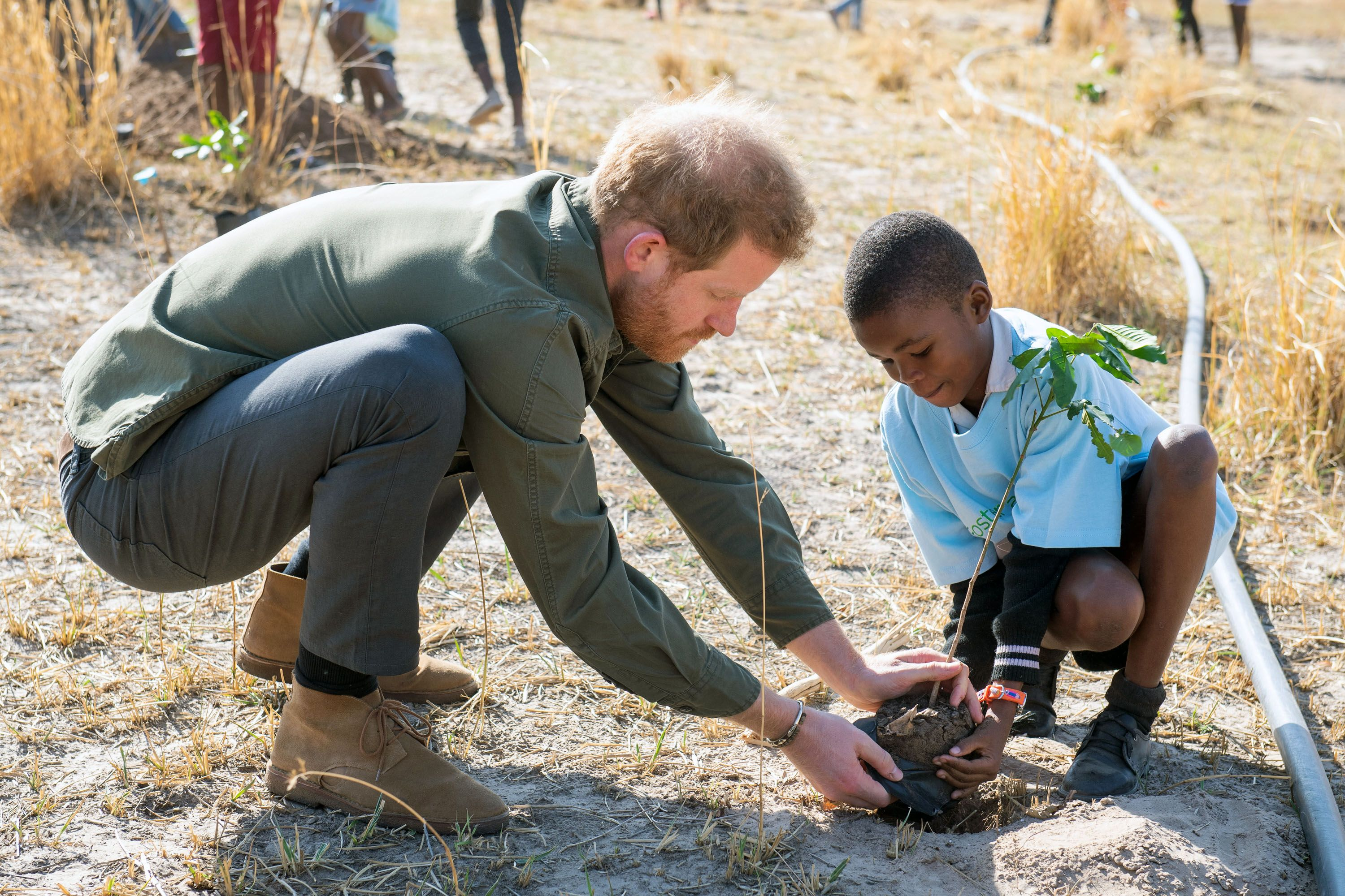 Prince Harry unveils new conservation project in Angola on royal tour of South Africa