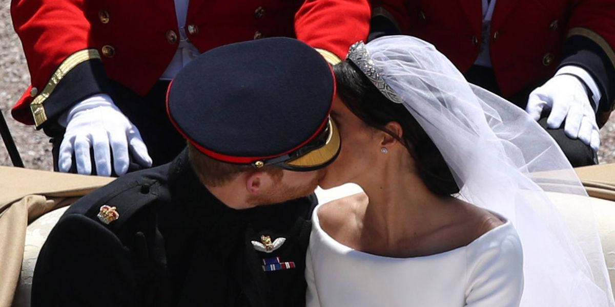 Prince Harry And Meghan Markle Snuck Second Kiss During -8907