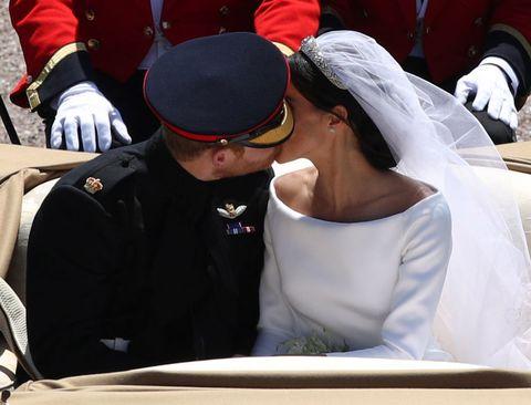 Prince Harry Meghan Markle Second Kiss