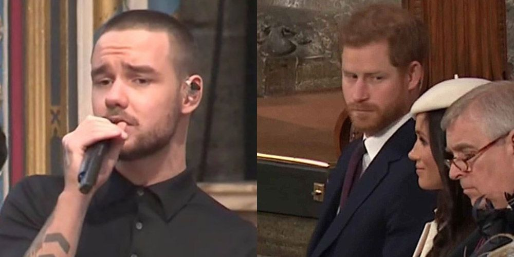 Did Prince Harry just shade Liam Payne during his performance?