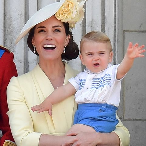 prince louis prince harry trooping the colour same shirt
