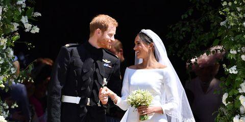 Prince Harry Marries Ms. Meghan Markle - Windsor Castle - bridal bouquet