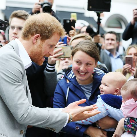 Prince Harry in Northern Ireland