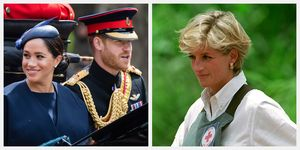 prince harry meghan markle africa tour princess diana