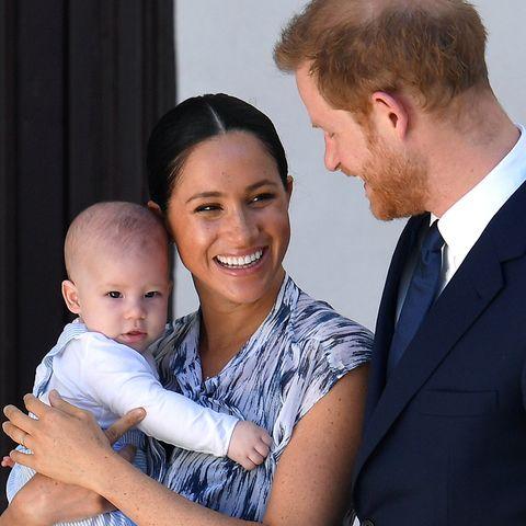queen elizabeth prince harry meghan markle archie