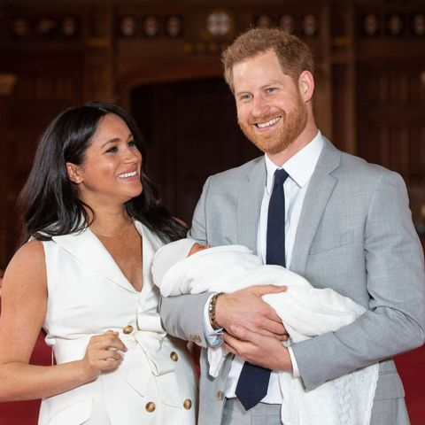 Prince Harry and Meghan Markle introduce Baby Sussex