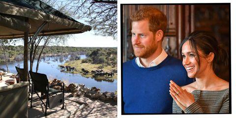 Prince Harry Meghan Markle Botswana