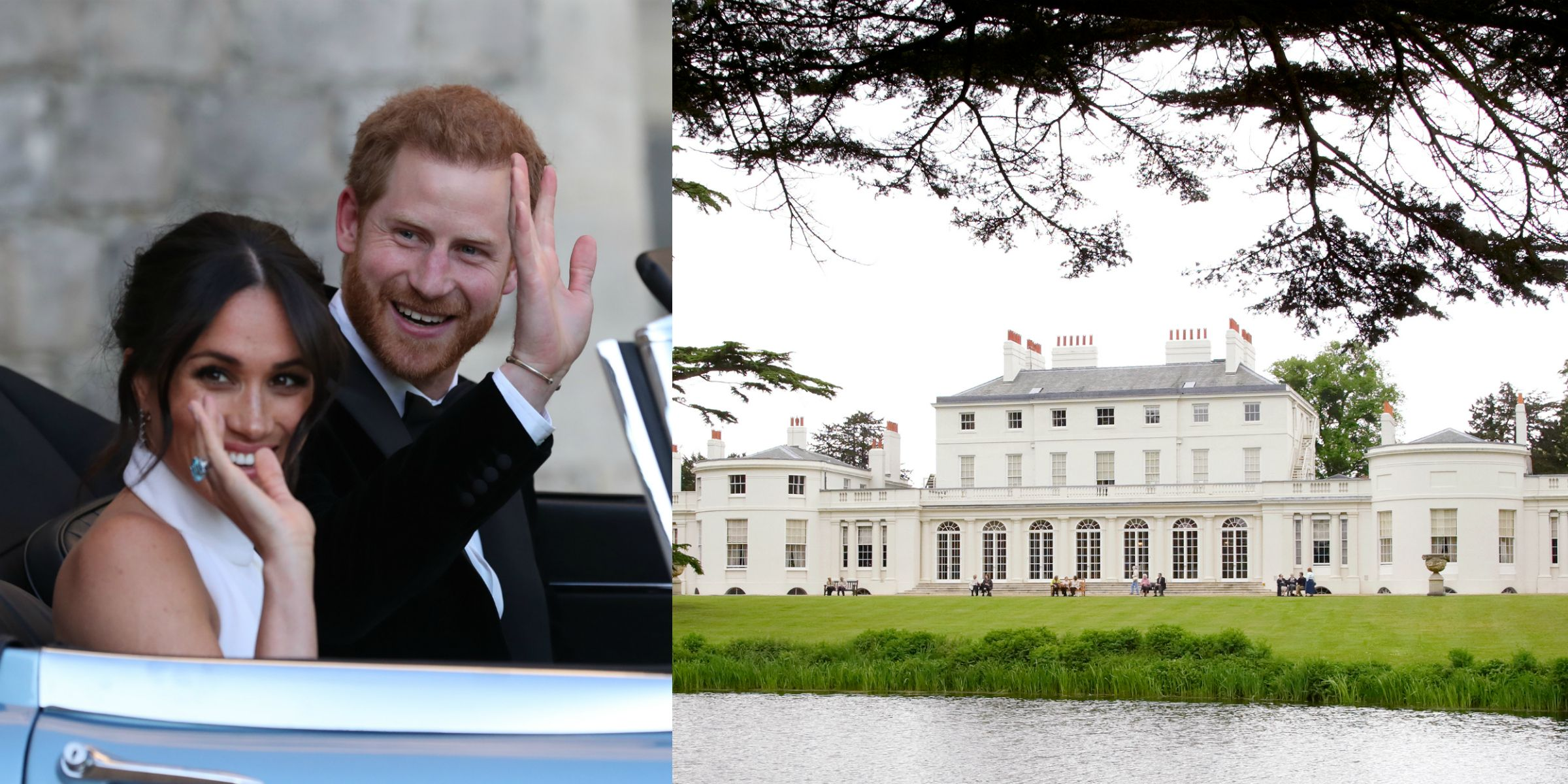 Image result for frogmore house harry and meghan