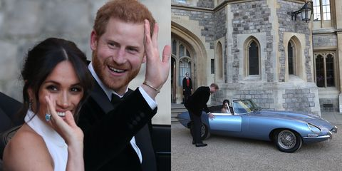 prince harry and meghan markle s electric jaguar wedding car will cost 500 000 prince harry and meghan markle s