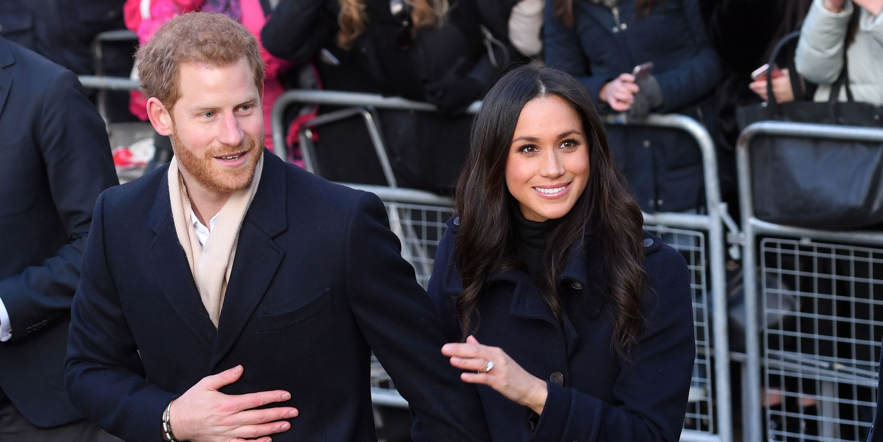 Prince Harry Meghan Markle Nottingham visit