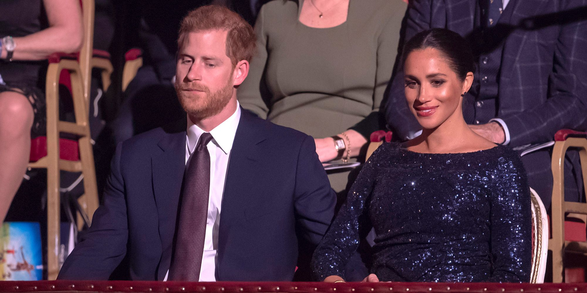 We all missed Prince Harry's insanely cute PDA with Meghan Markle this week