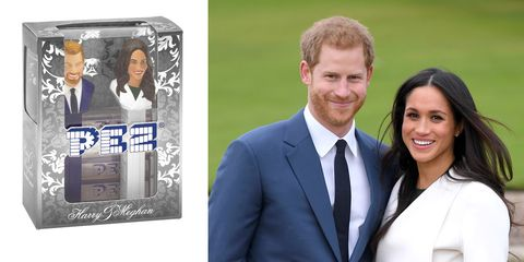 Royal wedding pez dispenser
