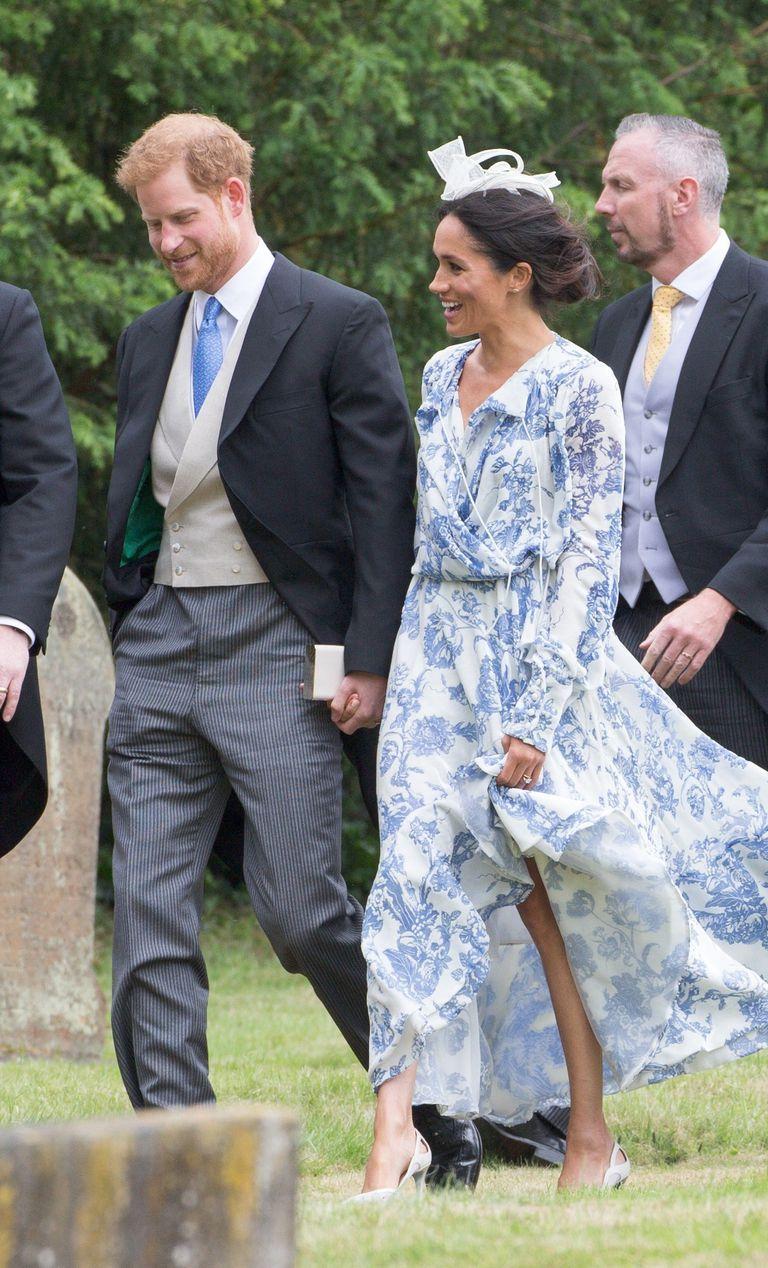 Meghan Markle,梅根馬克爾,哈利王子,婚禮穿搭